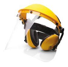 Portwest PW90 PPE Sicherheitsschutz Set Gesichtsschild Ear Muffs - Gelb