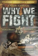 Frank Capra's Why We Fight 4  DVD-4 PCS -TESTED-RARE VINTAGE-SHIPS N 24 HOURS