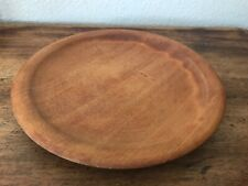 KAURI WOOD BOWL  NEW ZEALAND VINTAGE WAIORA HANDCRAFT !! PLATE 8.5""