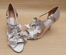 Lanvin Adornado Sandalias de arco de satén > BN > £ 330 > 39 + 40 - 6 + 7uk > Zapatos > Genuino >