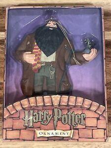 "Kurt Adler Harry Potter Rubeus Hagrid Christmas Ornament Dragon 6"" MINT Rare"