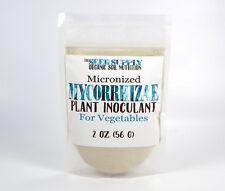 2 Oz Mycorrhizae for Vegetables - Micronized Endo Fungi Plant Inoculum