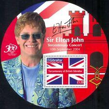Gibilterra 2004 Uovo del Tricentenario dei/ELTON JOHN/MUSICA/cantante/PEOPLE 1v M/S (n17702)