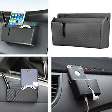 Universal Car Auto Accessories Glasses Organizer Storage Box Holder Black New
