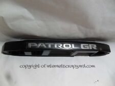 Nissan Patrol GR Y61 2.8 97-05 LH NSR tailgate handle number plate light cover