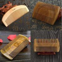 Handmade Sandalwood Anti-Static Pocket Comb Beard And Mustache Comb Hair Brush