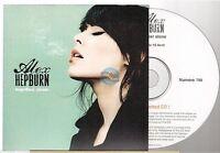 ALEX HEPBURN together alone CD ALBUM PROMO france french card sleeve
