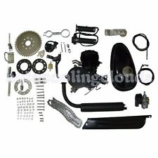 80cc 2 Stroke Motorized Petrol Gas Cycle Bike Bicycle Engine Kit Motor Muffler