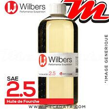 SAE 2.5 - Huile de fourche Wilbers