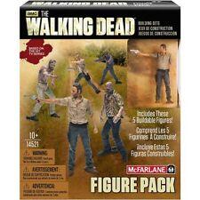 McFarlane Toys Building Sets AMC's The Walking Dead Figure Pack #1 5 Figures Toy