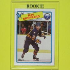 RAY SHEPPARD  1988-89   ROOKIE   Topps #55   Buffalo Sabres