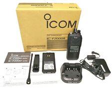 NEW ICOM IC-F2000S 400-470Mhz IP67 128CH MDC1200 4W Transceiver Handheld Radio