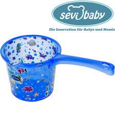 Sevibaby Azul Bebé Baño Taza Para Bañera Paleta Jarra Spülen Ducha Taza 177