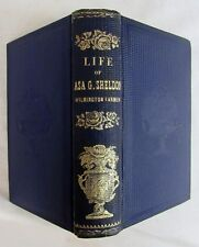 1862 LIFE OF ASA GRAY WILMINGTON FARMER MA Massachusetts Farming Autobiography