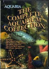 AQUARIA: THE COMPLETE AQUARIUM COLLECTION - VIRTUAL FISH TANKS w/MUSIC & SOUNDS!