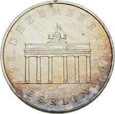 Künker: DDR, 20 Mark 1990 (A), Öffnung Brandenburger Tor, Silber, Erhaltung!