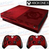 Skin vinilo Decal Xbox One X GUERRA CALIDAD 100% ACABADO ALTO BRILLO