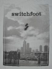 T-SHIRT M MEDIUM SWITCHFOOT ALTERNATIVE ROCK BAND VINTAGE SHIRT
