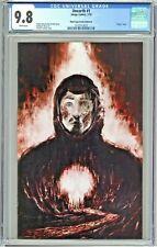 Unearth #1 CGC 9.8 Black Cape Comics Edition B Virgin Salinas Cover COA 250