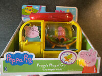 Peppa Pig Peppa's Play N Go Campervan With Figure Playset *BRAND NEW*
