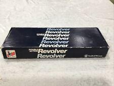 Smith & Wesson .22 Cal Revolver Factory Box, S&W No. 3395
