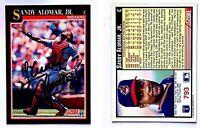 Sandy Alomar Jr. Signed 1991 Score #793 Card Cleveland Indians Auto Autograph
