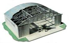 WWII Airforce Hangar 1:144 scale Model Kit (LASERCUT SET) Dimensions:24 x 21cm