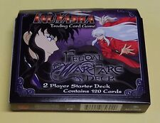 InuYasha Feudal Warfare 2 Player Starter Deck NEW Score Trading Card Game TCG
