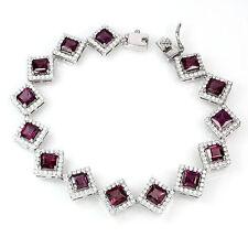 "Statement Not Enhanced 7 - 7.49"" Fine Gemstone Bracelets"