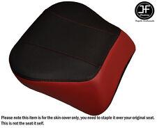DARK RED BLACK VINYL CUSTOM FITS HARLEY BRAKEOUT 13-16 SUNDOWNER REAR SEAT COVER