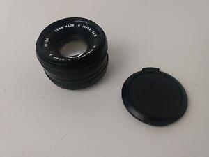Ricoh XR Rikenon 1:2 50mm Lens For Pentax K Mount