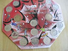 Vancouver 2010 Coins Olympic Games w/holder lot collectors hobby souvenir # 540