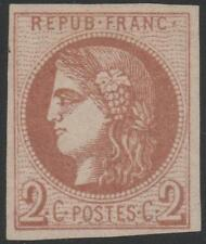 "FRANCE N° STAMP TIMBRE 40 Bb "" BORDEAUX 2c MARRON  "" NEUF (x) A VOIR J857"
