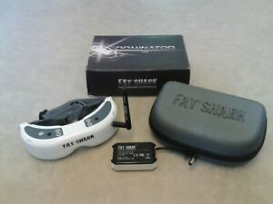 FatShark Dominator HD FPV Goggles 5.8GHz Receiver / RC Quadcopter Racing Drone