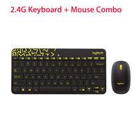 Mini anti-gouttes Logitech MK240 Nano sans fil clavier +souris Kit Plug and Play