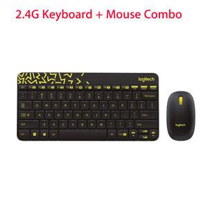 Logitech MK240 Nano Wireless Keyboard +Mouse Kit Spill-proof  Plug and PlayMini
