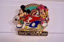 "Disney Tokyo Disneyland ""Disney's Rock Around The Mouse"" Mickey And Minnie Pin"