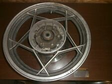 "1981 81 Suzuki GS850 GS 850 850G Rear Tire Wheel Rim Steel Brake  Drive Hub 17"""