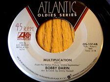 """BOBBY DARIN - MULTIPLICATION / ARTIFICIAL FLOWERS  7"""" VINYL"""