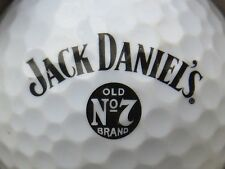 (1) JACK DANIELS OLD NO 7 WHISKEY ALCOHOL LOGO GOLF BALL