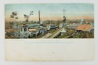 Postcard Corner of Steeplechase Park Coney Island New York 1907