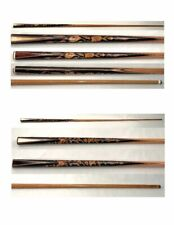 New listing ANTIQUE billiard CUE COLLECTION - 176 cues with link to ALL cues + showcase