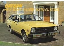 DATSUN SUNNY 1.4 LITRE FASTBACK ESTATE SALES BROCHURE 1979