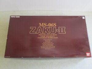 SEALED MIB 1/60 SCALE MS-06S ZAKU-II MODEL PRINCIPALITY OF ZEON CHAR AZNABLE