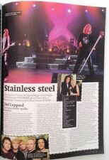 DEF LEPPARD 2003 Hammersmith Odeon gig review UK ARTICLE / clipping