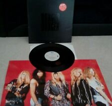 "Danger Danger ‎– Comin' Home Vinyl 12"" Limited Ed Single + Poster 1992 Epic"