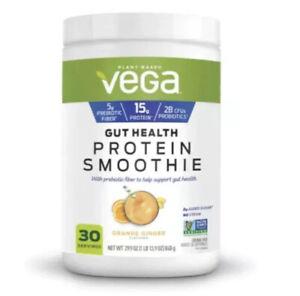 1/ Plant Based Vega Gut Health Protein Smoothie Orange Ginger Mix 29.9