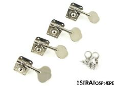 Fender Vintage 57 RI P Bass TUNERS TUNING PEGS 1957 Precision Chrome Parts