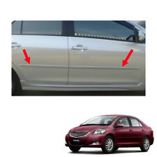 Body Cladding Side Molding Guard Painted Fit Toyota Vios Yaris Belta 2007 - 13