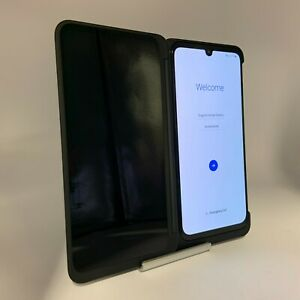 LG G8X ThinQ 128GB Black AT&T Locked Excellent Condition + Dual Screen